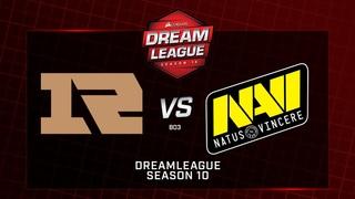Royal Never Give Up vsNa'Vi, DreamLeague Minor, bo3, game 1 [Adekvat & Lex]