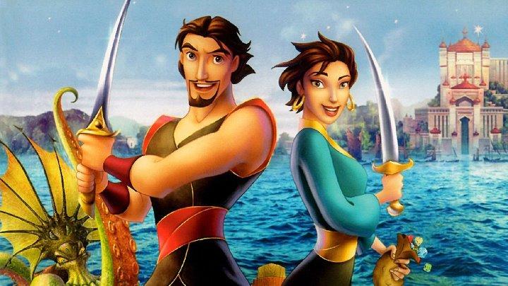 Синдбад Легенда семи морей HD фэнтези приключения семейный 2003