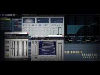 Обработка ДАБЛ-ВОКАЛА в программе CUBASE 5 | Double VOCAL