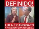 Dia 27 lançamento da pré-candidatura Lula em todo Brasil
