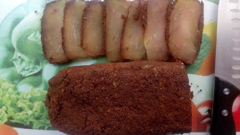 Бастурма армянская монолитная из нескольких кусков мяса Филе куриной грудки Հայկական բաստուրմա