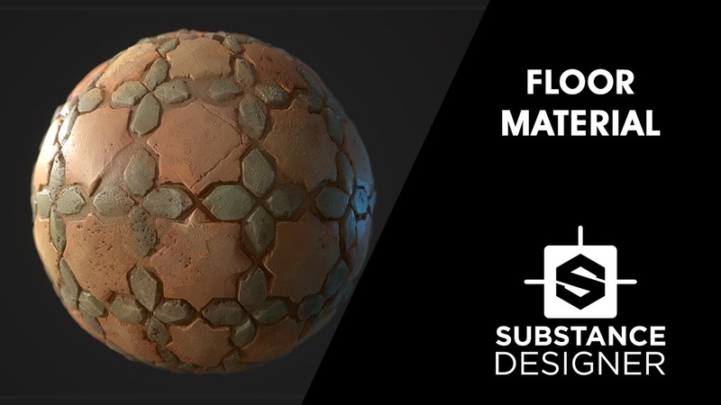 Substance Designer Floor Material
