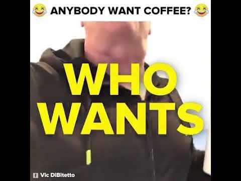 The Anybody Want Coffee Guy