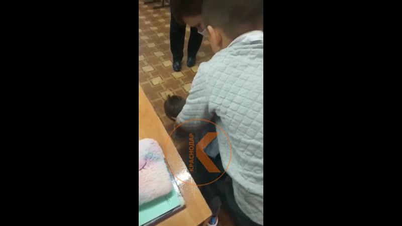 В поселке Выселки Краснодарского края младшеклассники по взрослому заломами агрессивного товарища