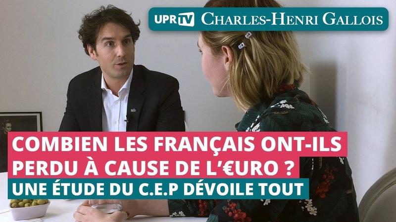 Combien les français ont-ils perdu à cause de leuro - Entretien de C-H. Gallois par Vue Autrement