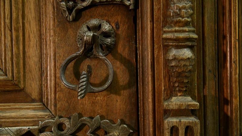 Эрмитаж в гостях у коллег Шкаф XVI век Северная Европа