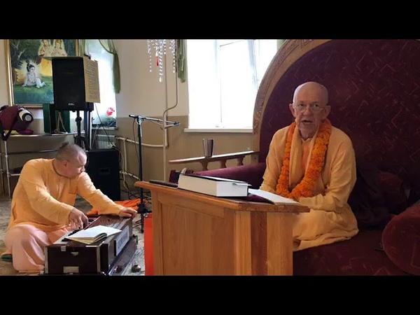 BVV Narasimha Swami, SB 11.13.38, Khabarovsk, 7.8.2019 (Eng Rus)