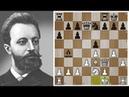 Михаил Чигорин оставил КОРОЛЯ в центре и понесся в АТАКУ! Шахматы.