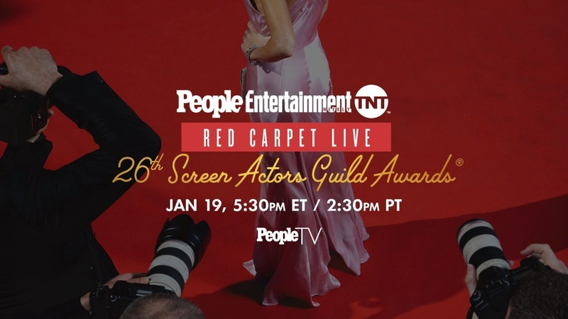 26th Screen Actors Guild Awards PEOPLE, Entertainment Weekly TNT Red Carpet Live | PeopleTV