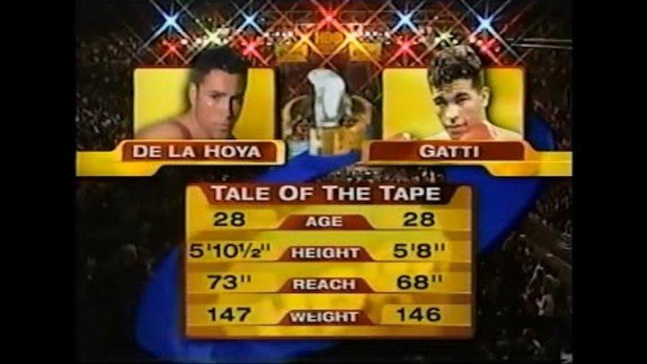 БОКС Оскар Де Ла Хойя vs Артуро Гатти Oscar De La Hoya vs Arturo Gatti