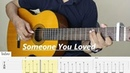 SOMEONE YOU LOVED Lewis capaldi Fingerstyle Guitar TAB