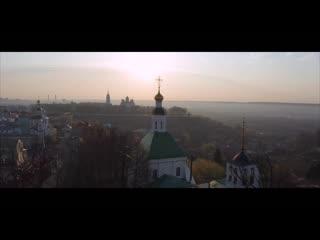 Раннее утро в городе Владимире