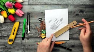 НОЖ ИЛИ ТОЧИЛКА? ЧТО ЛУЧШЕ? • Как точить карандаш