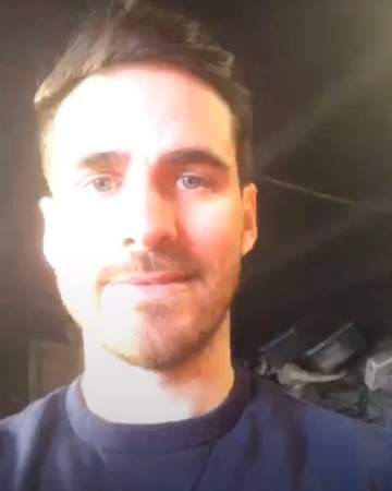 🍀Colin O'Donoghue🍀 on Instagram Colin and his new attempt to make a live video 😂♥️ 🎥 @colinodonoghue1 ig Stories