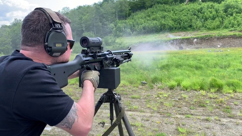 Belt fed HK Machine Guns MM23e and MM21e