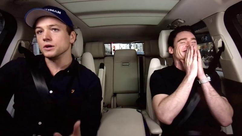 Taron Egerton and Richard Madden | Carpool Karaoke
