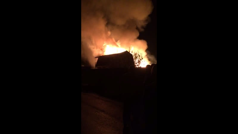 Пожар в Зубарево