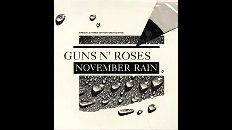 Guns N' Roses - November Rain solo (cover by me)