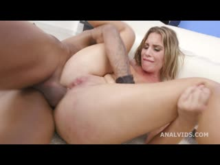 Balls Deep, Lady De Leon Vs Dylan Brown, Balls Deep Anal, Gapes and Cum in Mouth