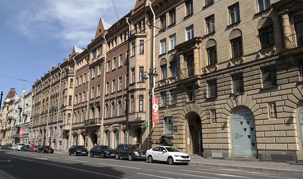 Дом на Большом проспекте Петроградской стороны