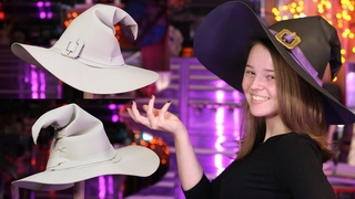 How to Make A Witch Hat out of Foam Easy DIY Tutorial Free Pattern Perfect for Halloween or Cosplay