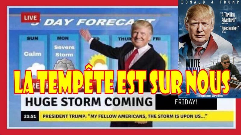 La tempête est sur nous encore un espoir de gagner