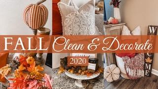 2020 FALL CLEAN & DECORATE WITH ME | Farmhouse Fall Decor House Tour 2020 | Olivia Erickson