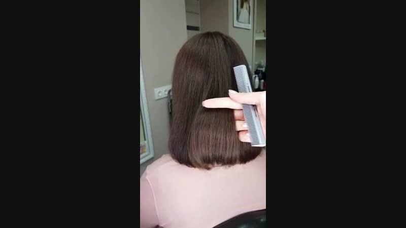 Женская стрижка окрашивание ботокс для волос H-brush Capillary Reconstruction (Япония) - Тюмень - Имидж Стаил
