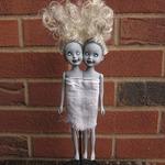 Сиамские близнецы-зомби из кукол Барби (МК)