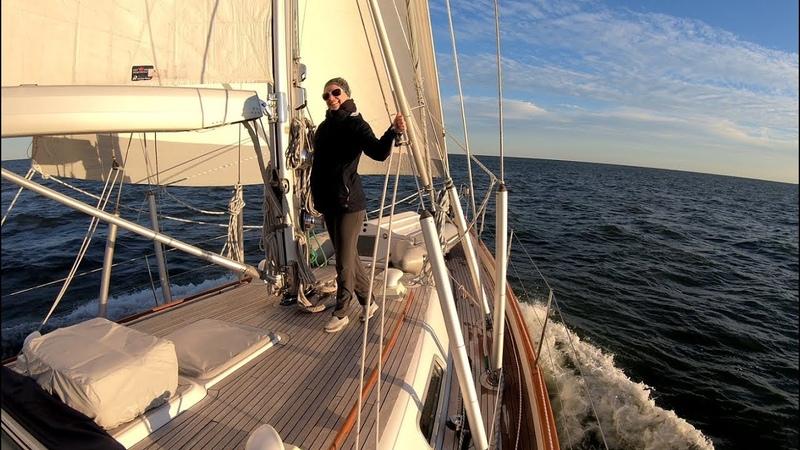 Ep50 Sailing USA to Bermuda Hallberg Rassy 54 Cloudy Bay Nov 2018