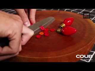Stop motion cooking - make baked lobster with garlic and cheese from screws | asmr no taking