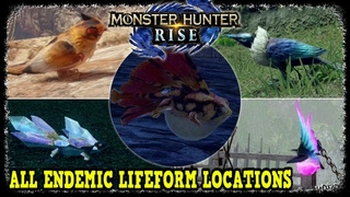 All Endemic Lifeform Locations in Monster Hunter Rise Gold Ecologist's Award
