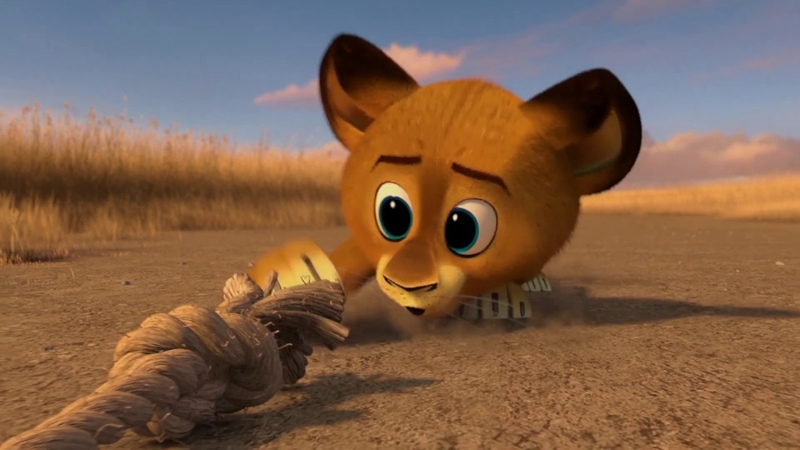 DreamWorks Madagascar Bebé Alex secuestrado Madagascar Escape 2 África