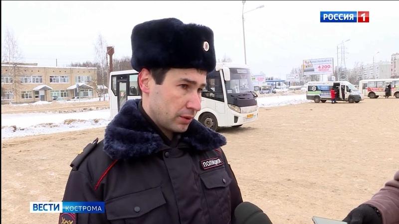 В ГИБДД рассказали о возможных причинах ДТП с двумя костромскими автобусами