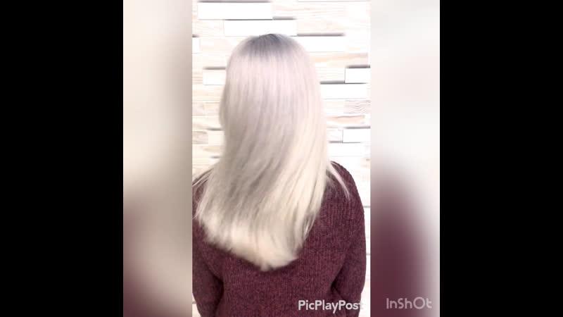 Холодная блондинка