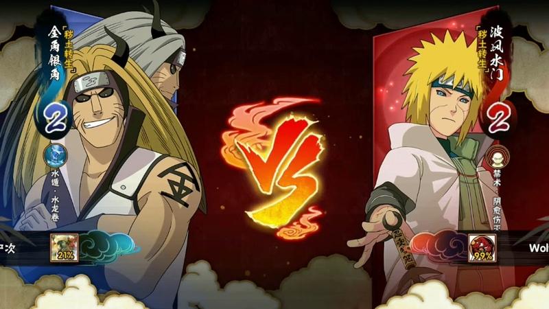 Naruto Mobile Минато Эдо Тенсей PVP