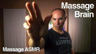 ASMR Binaural Brushing  - Whispering to Massage your Brain
