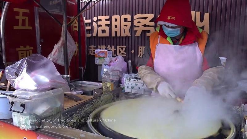 Искусство приготовления блинов хуандзян Китай