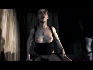 Клэр Редфилд Леон Скотт Clair Redfield Leon Scott Resident Evil sex секс longtime