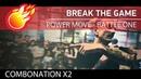 Break the game POWER MOVE at COMBONATION x2 (Boyan Akra vs Tiger Power J) bmvideo