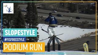 Henrik Harlaut   3rd place   Men's Slopestyle   Aspen   FIS Freestyle Skiing