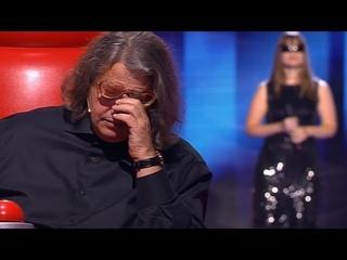 ГРАДСКИЙ РЫДАЛ!!! Слепая Девушка покорила сердца зрителей! Голос. Слепые прослушивания.