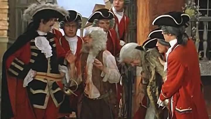 - Ваш сын - рогат! Рога - трубят! (Отрывок из кинофильма: Труффальдино из Бергамо).