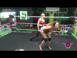 Nikki lane low blows rebel kel