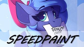 MLP (Little Luna) SpeedPaint