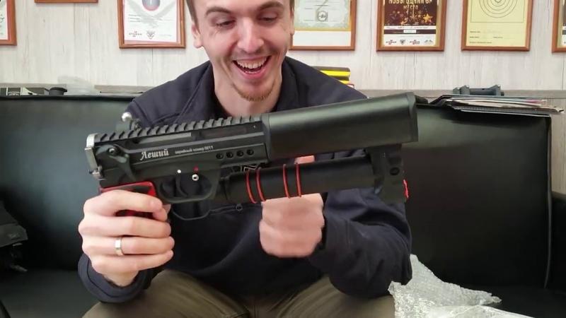 Леший 2 0 распаковка и первые впечатления от новой винтовки Эдган