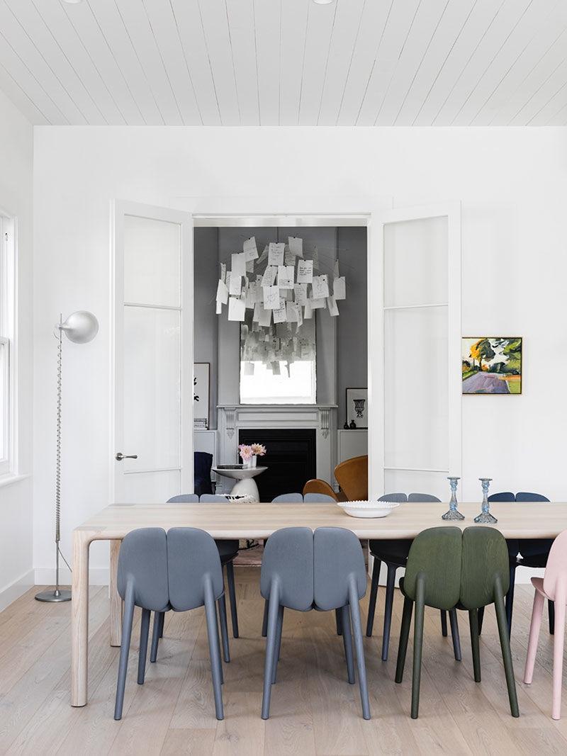 Наполненный светом современный семейный дом дизайнера Ali Ross в Мельбурне || 01