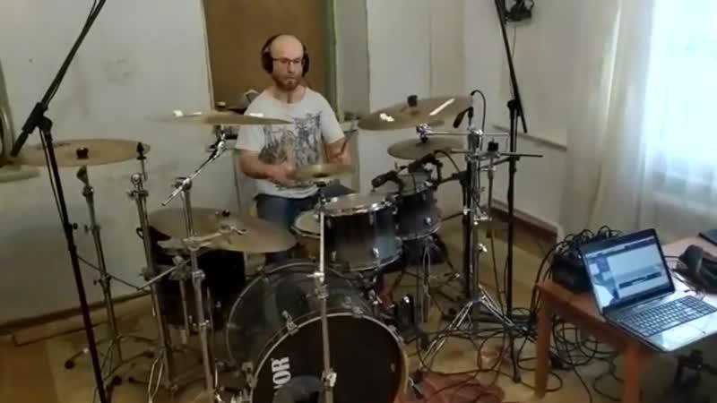 Запись барабанов для Ravenhate 22.02.2020
