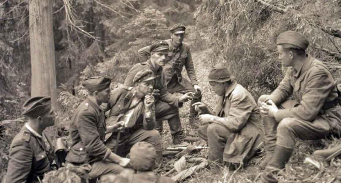 В лагере бандеровцев