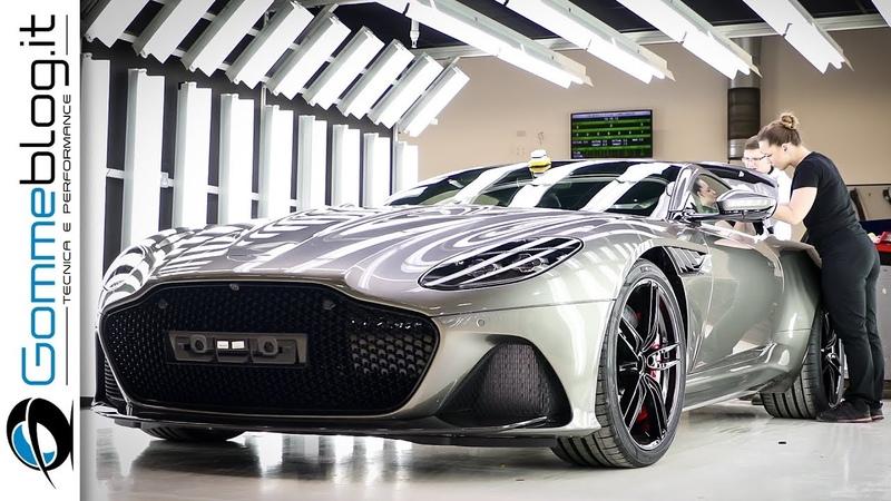 2019 Aston Martin CAR FACTORY - PRODUCTION